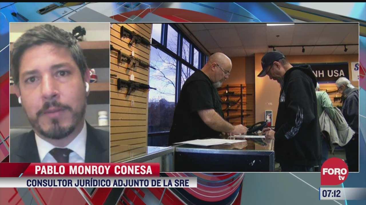 mexico demanda a fabricantes y distribuidores de armas de eeuu el analisis en estrictamente personal