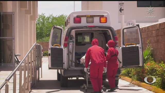 tercera ola en mazatlan incrementa carga de trabajo de paramedicos