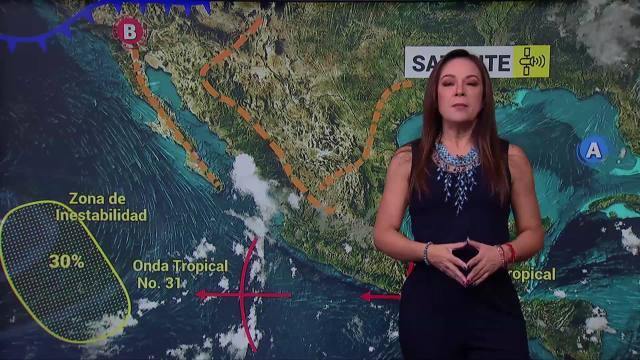 Canal de baja presión provocará lluvias en noroeste y occidente de México