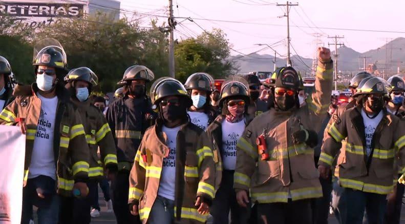 Cinco bomberos que atendieron emergencia en la guardería ABC podrían ir a prisión