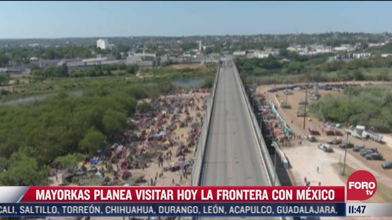 alejandro mayorkas planea visitar la frontera con mexico
