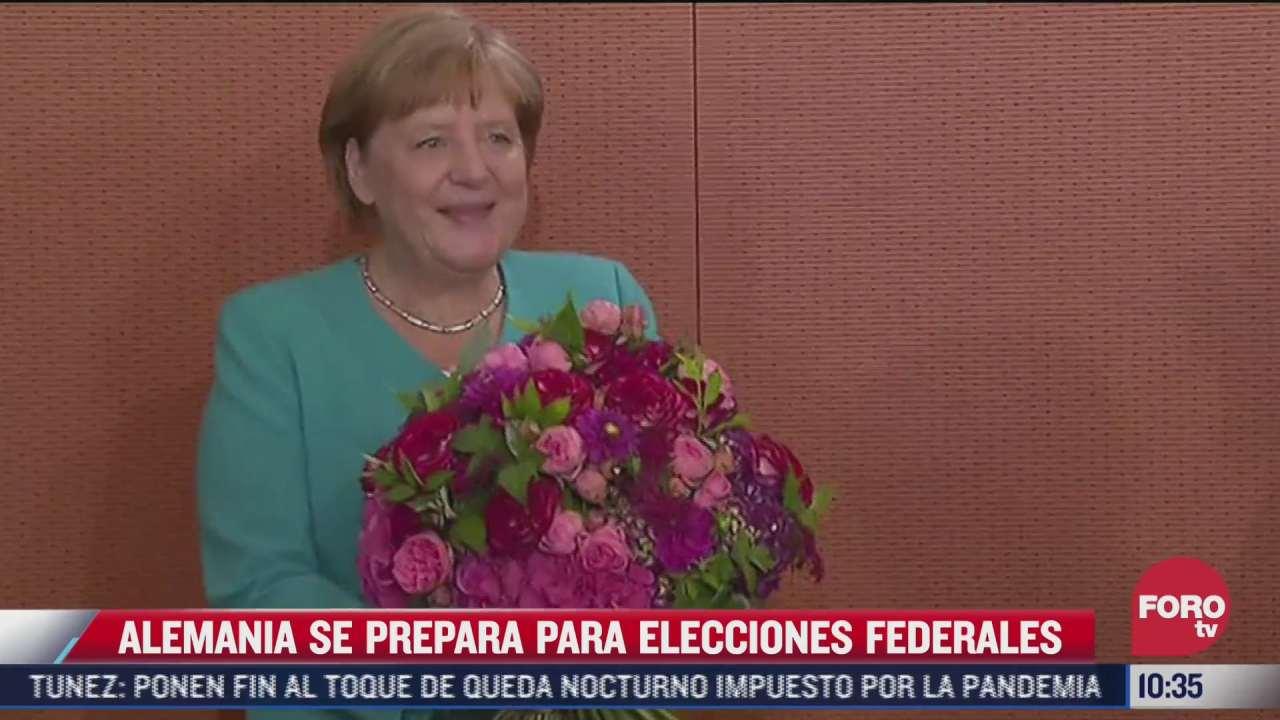 alemania se prepara para elecciones federales