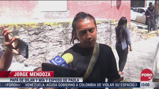 alistan misa en honor de paola y dylan madre e hijo hallados bajo escombros del chiquihuite