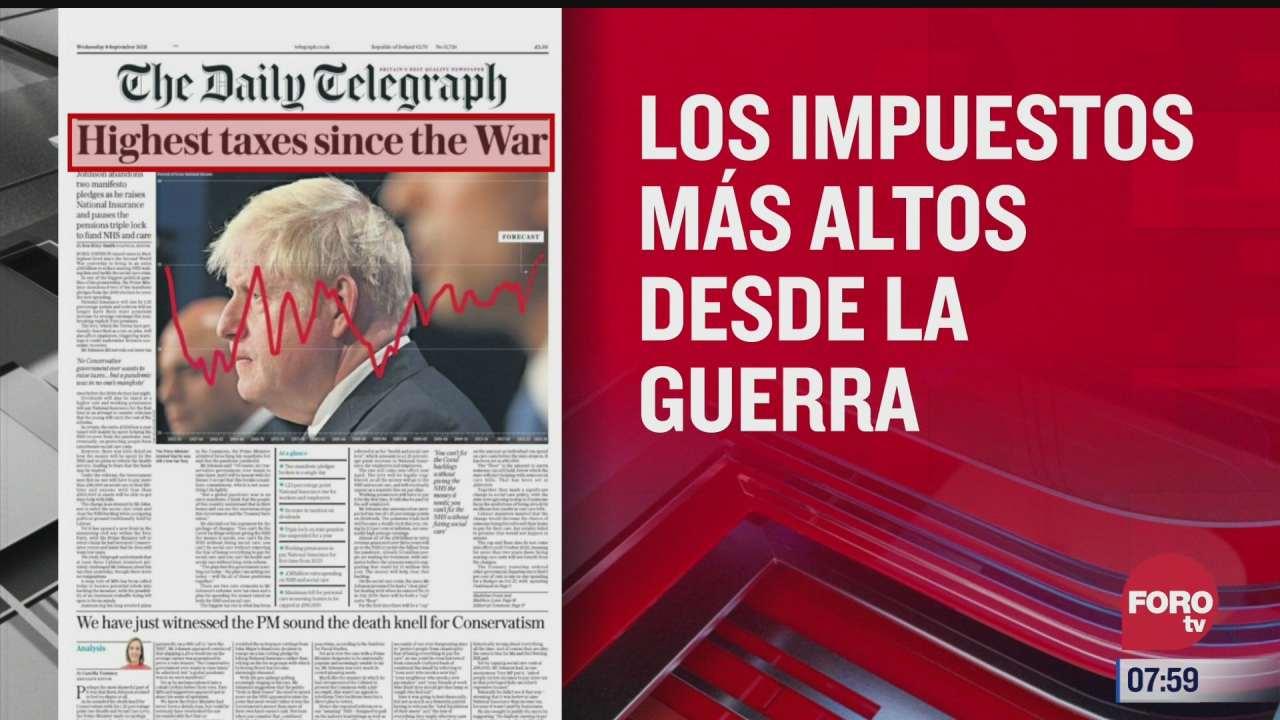 analisis de las portadas nacionales e internacionales del 8 de septiembre del