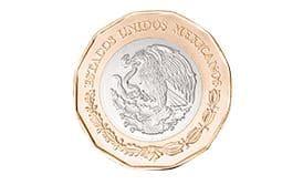 Anverso de las monedas conmemorativas