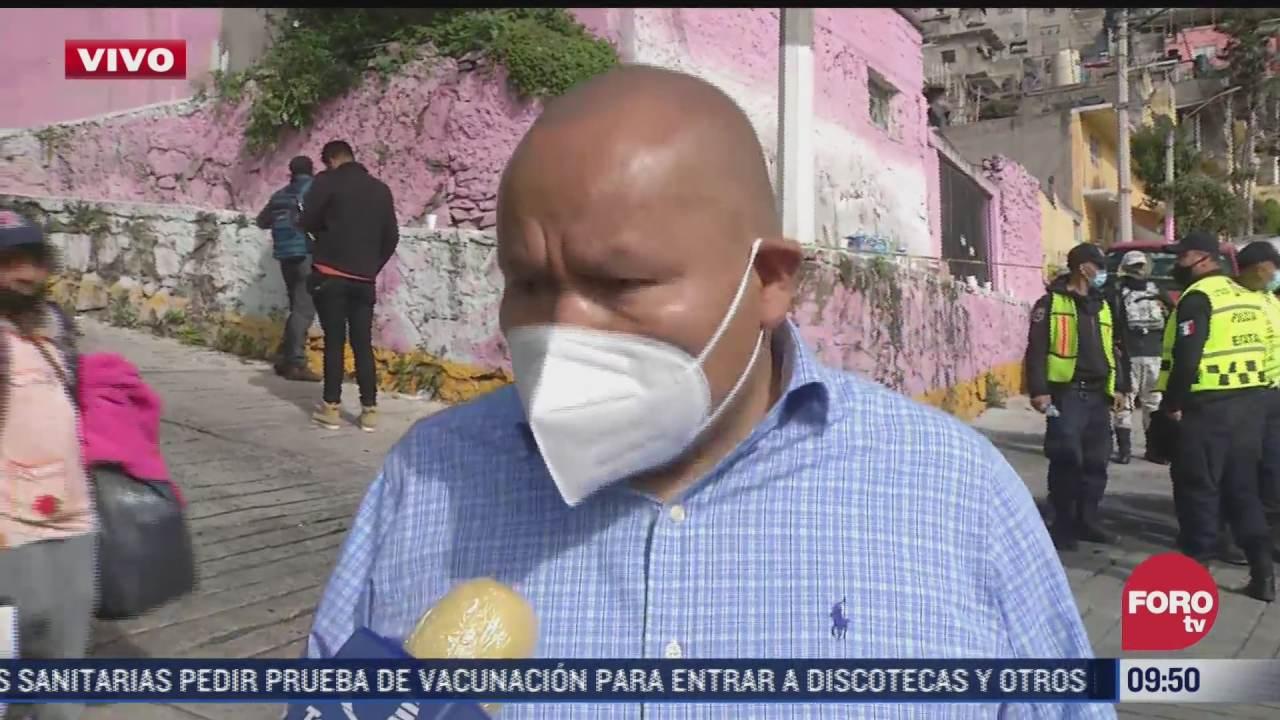autoridades de tlalnepantla desmienten segundo desgajamiento en cerro del chiquihuite