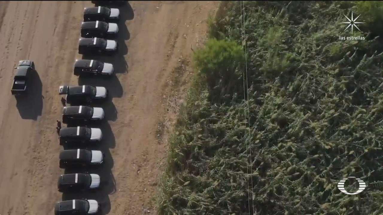 autoridades estadounidenses endurecen cercos contra migrantes