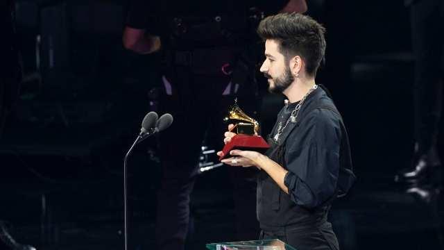 Camilo lidera candidaturas a premios Latin Grammy