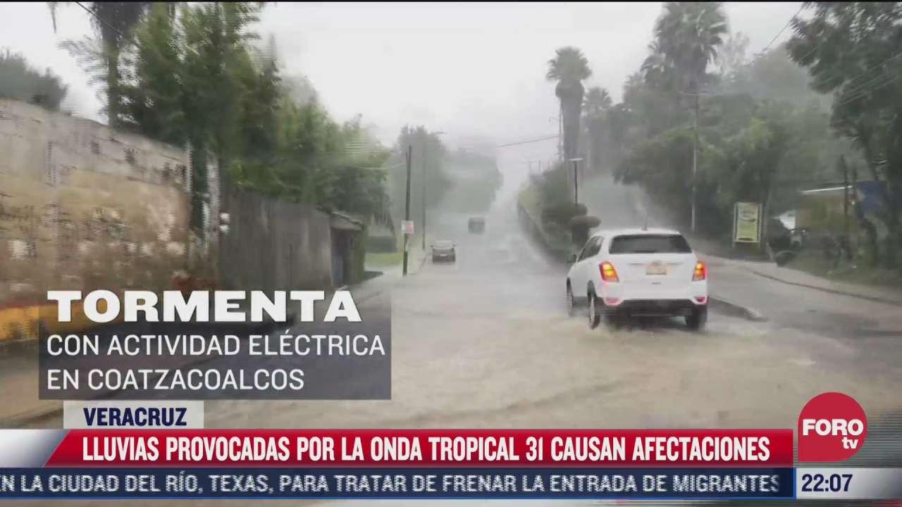 causan deslaves las lluvias en veracruz