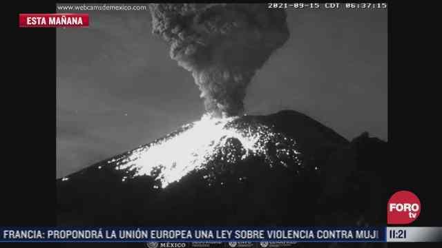 cenizas del volcan popocatepetl podrian caer en alcaldias de cdmx