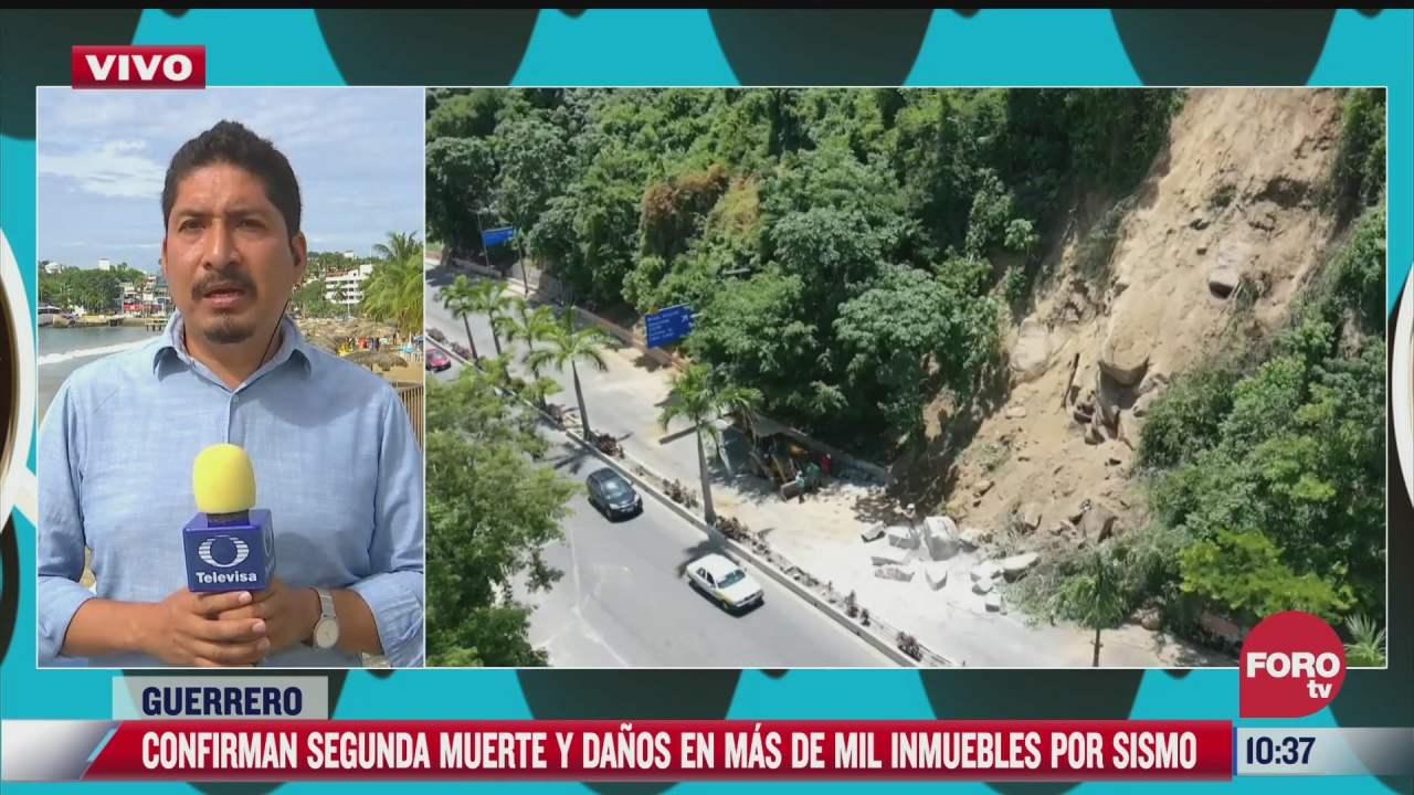 confirman mas de mil inmuebles afectados por sismo en guerrero