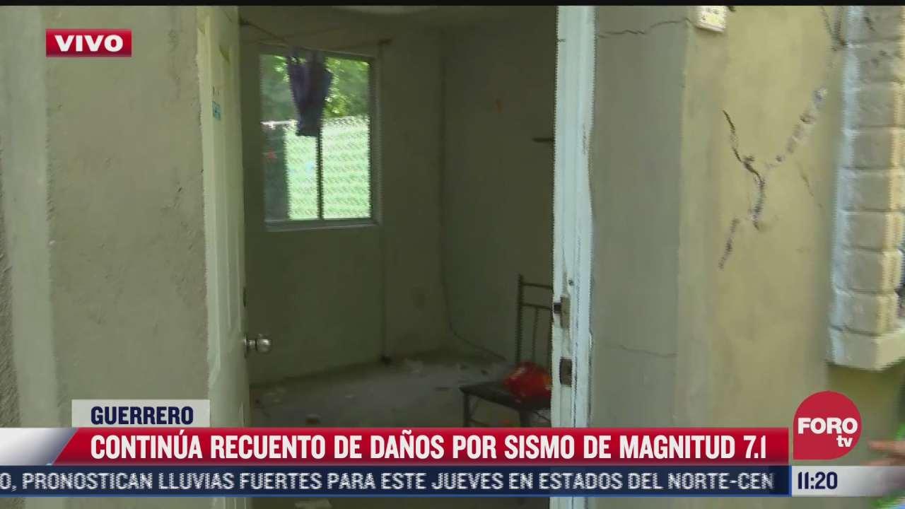 continua recuento de danos por sismo en acapulco guerrero