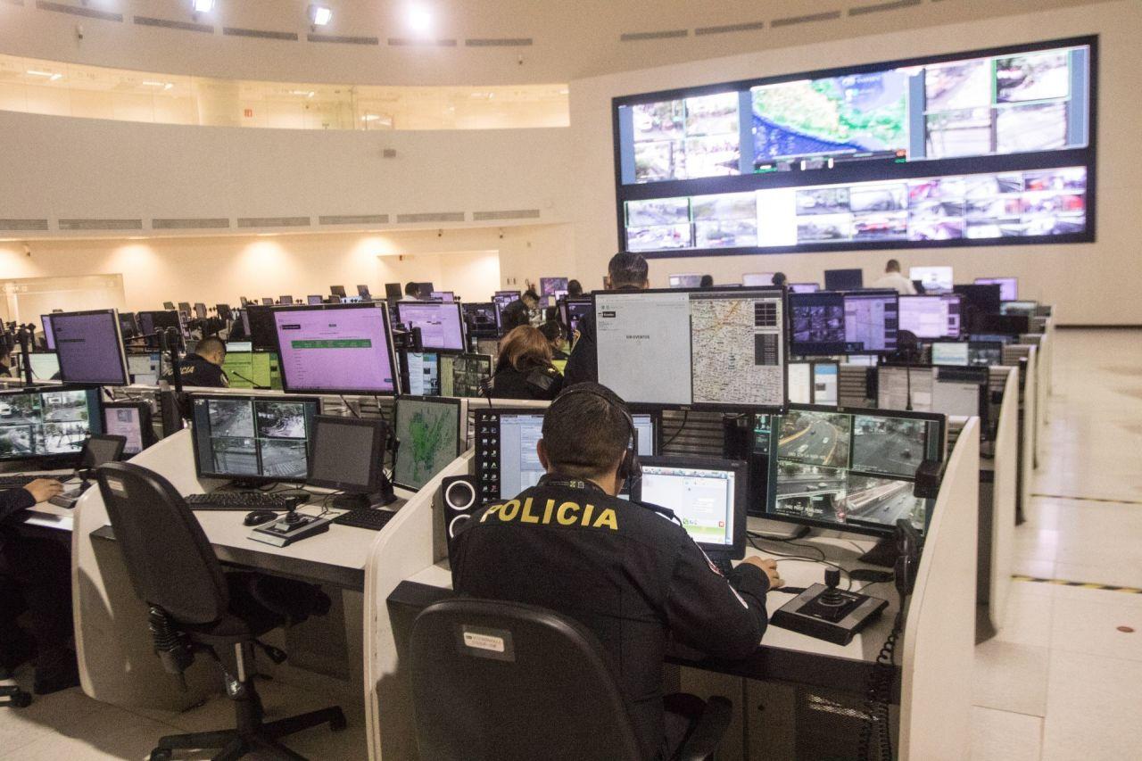 Centro de Monitoreo C5 de CDMX