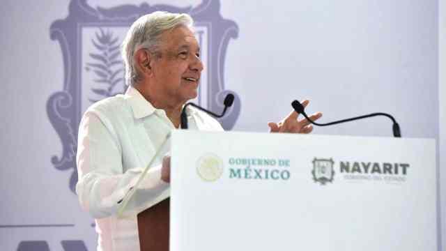 Andrés Manuel López Obrador, Presidente de México, en Tepic, Nayarit (Cuartoscuro)