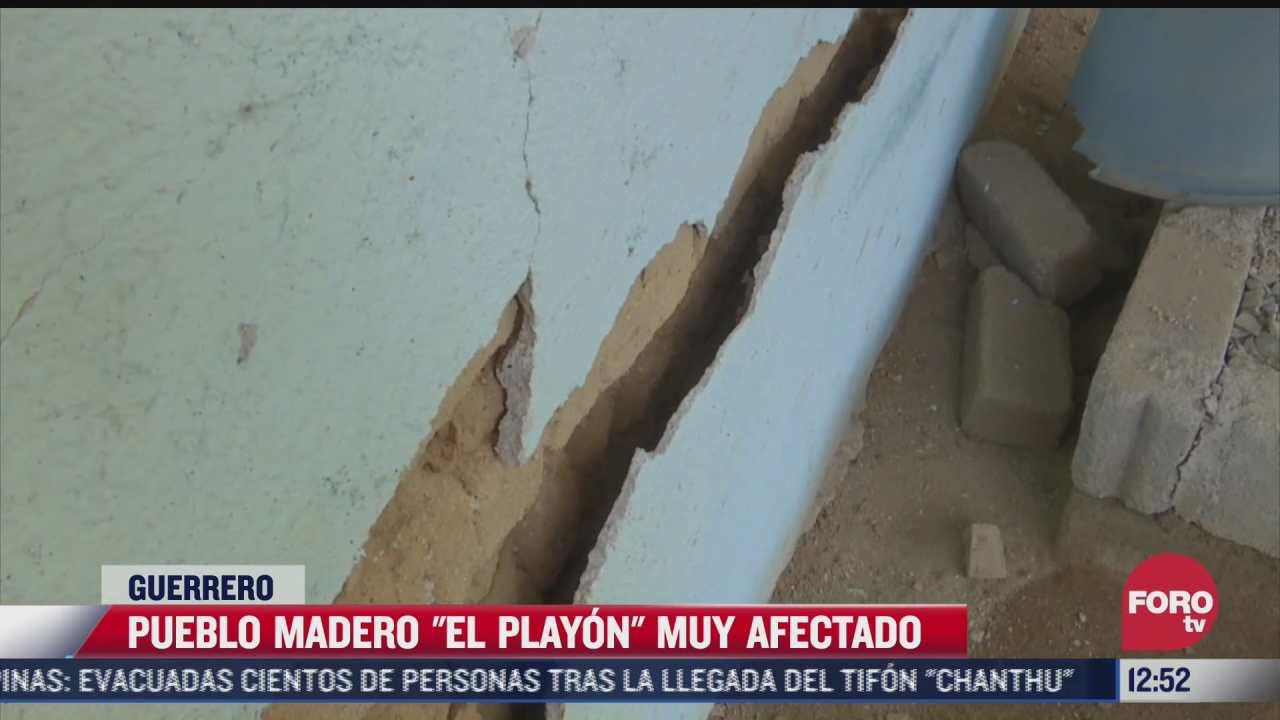 damnificados en guerrero por sismo de magnitud 7 1 piden mas apoyo a autoridades