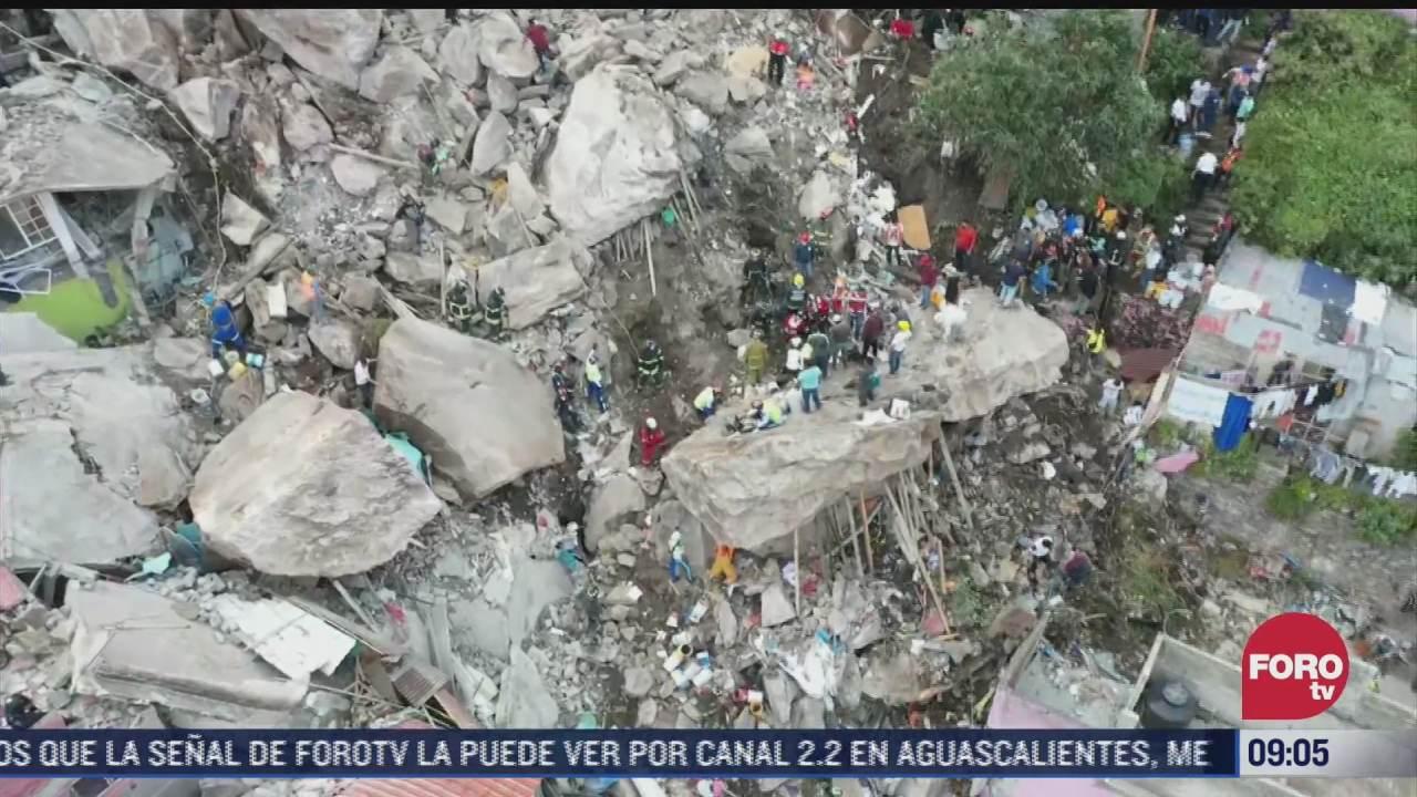 derrumbe en cerro del chiquihuite fue por urbanizacion desordenada especialistas