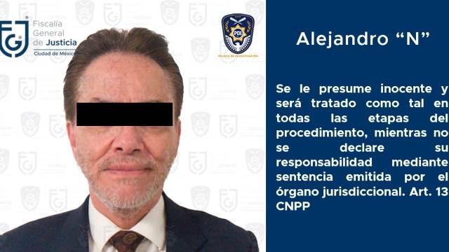 Detienen a Alejandro del Valle, socio de Miguel Alemán Magnani