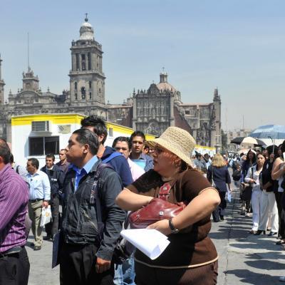 Población Económicamente Activa en México (EFE)