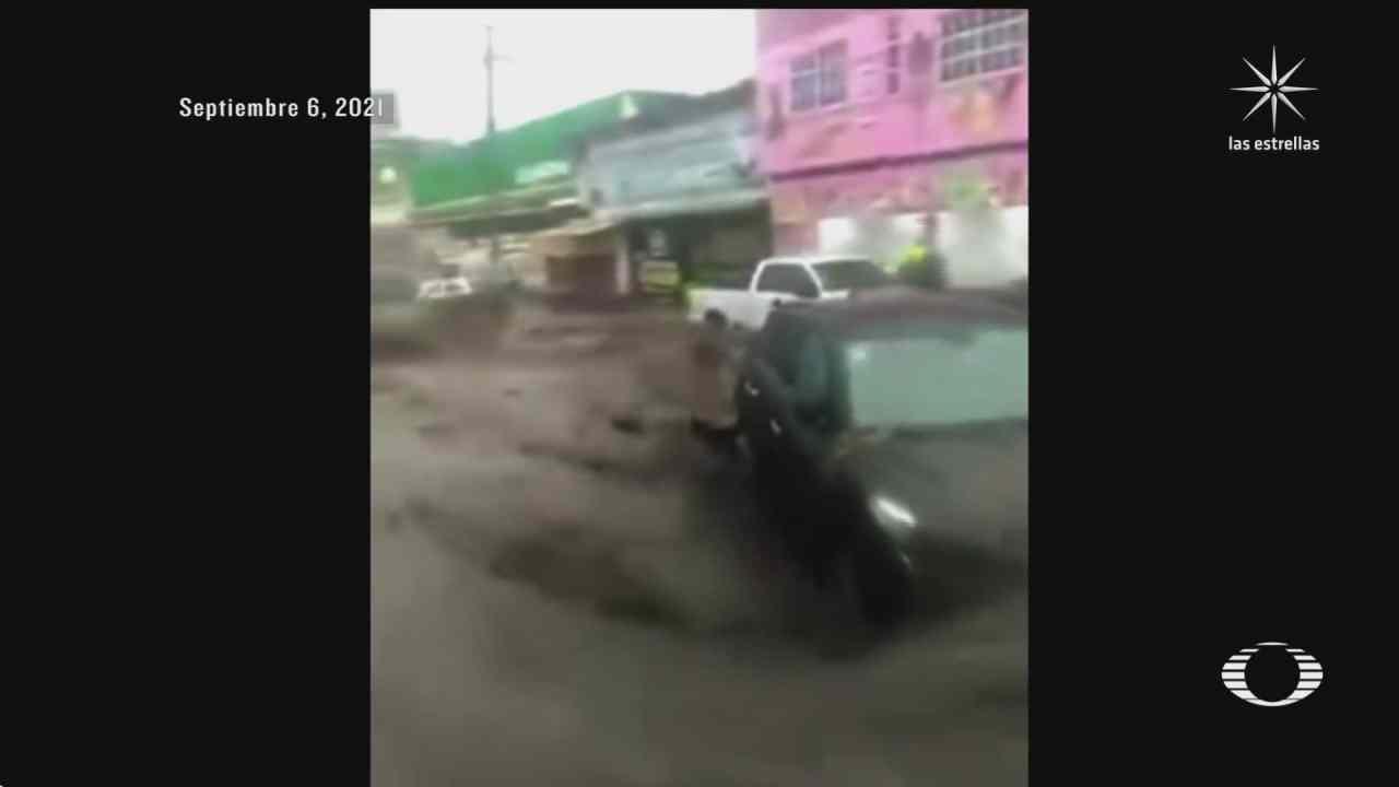 dos muertos y 19 colonias afectadas saldo de las lluvias en ecatepec