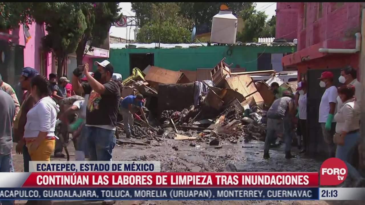 ecatepec continua con el recuento de los danos