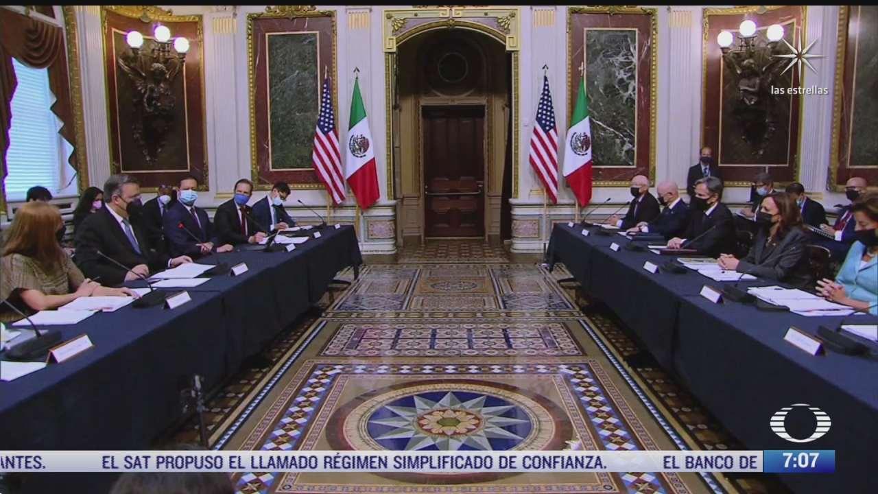 eeuu y mexico reanudan el dialogo economico de alto nivel tras varios anos