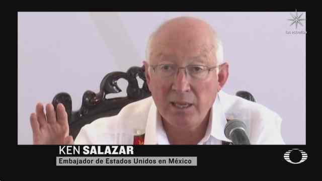 embajador de eeuu en mexico responde sobre peticion de embargo economico a cuba