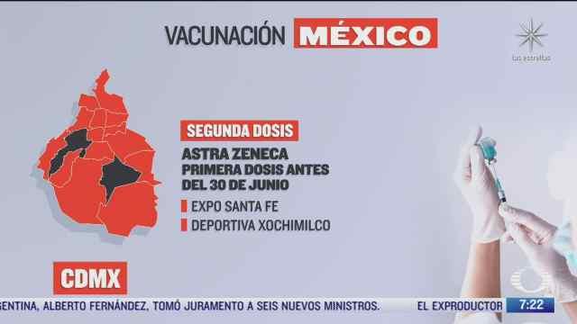 en que estados inicia la vacunacion covid hoy 21 de septiembre de