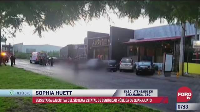 extorsion no es el movil principal de explosion en restaurante de salamanca sophia huett