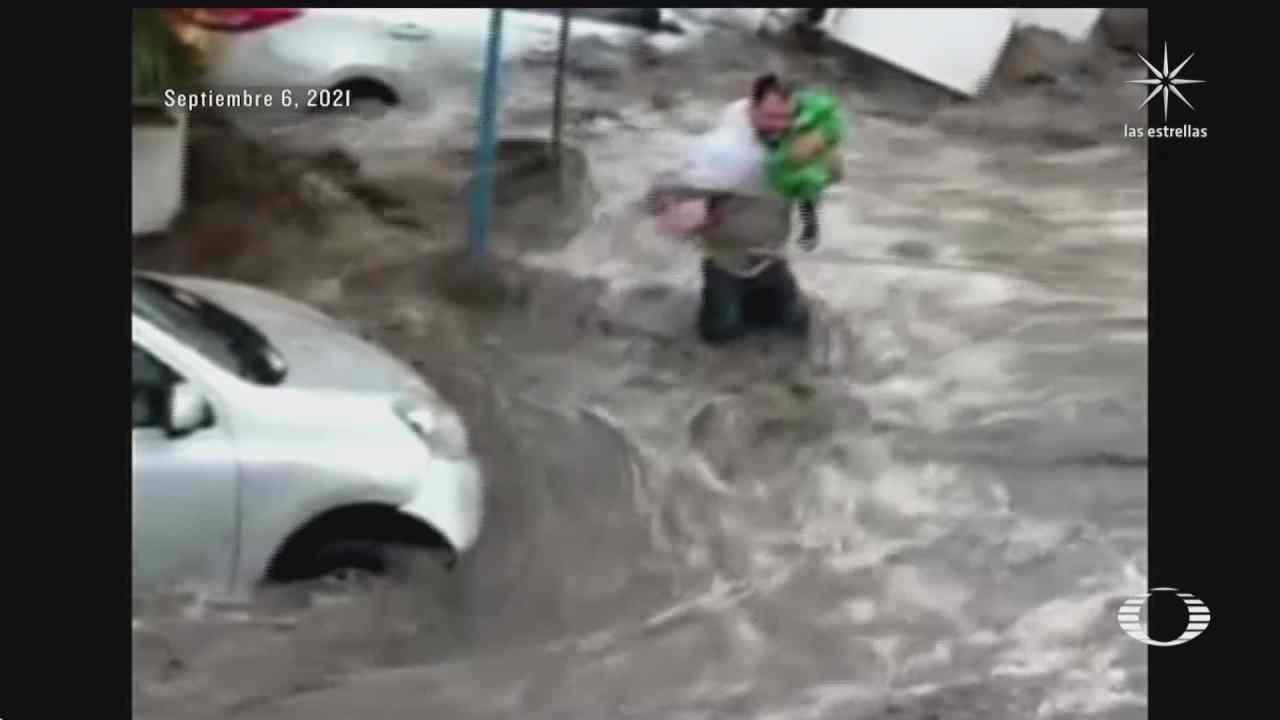 familia de bebe rescatado en ecatepec se reune con su heroe