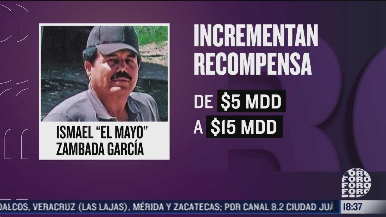 gobierno de ee uu incrementa recompensa para localizar a ismael el mayo zambada