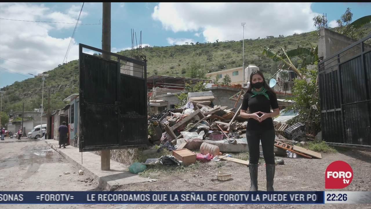 inundaciones de tula dejan sin hogar a familia su casa quedo inhabitable