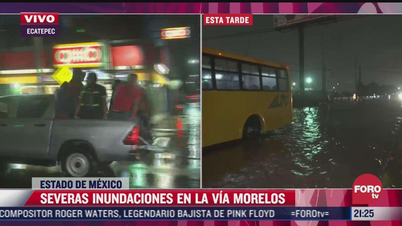 lluvia extraordinaria causo severas afectaciones en 19 colonias de ecatepec
