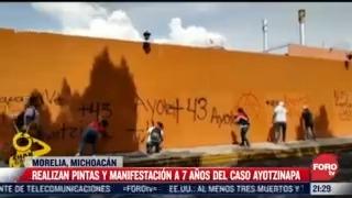 marchan en distintos puntos del pais por caso ayotzinapa