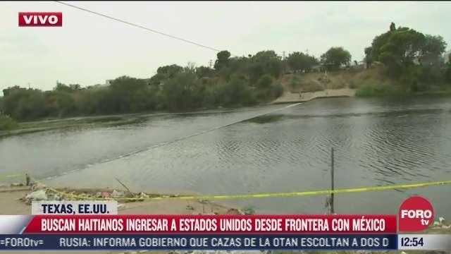 migrantes haitianos cruzaron de ciudad acuna a texas