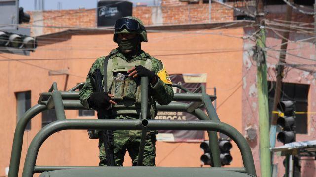 Agentes ministeriales y militares resguardan calles de Guanajuato (Cuartoscuro)