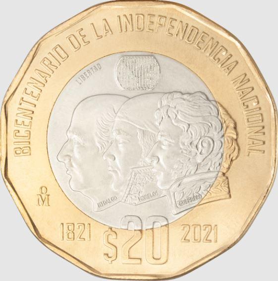 Moneda por el Bicentenario de la Independencia
