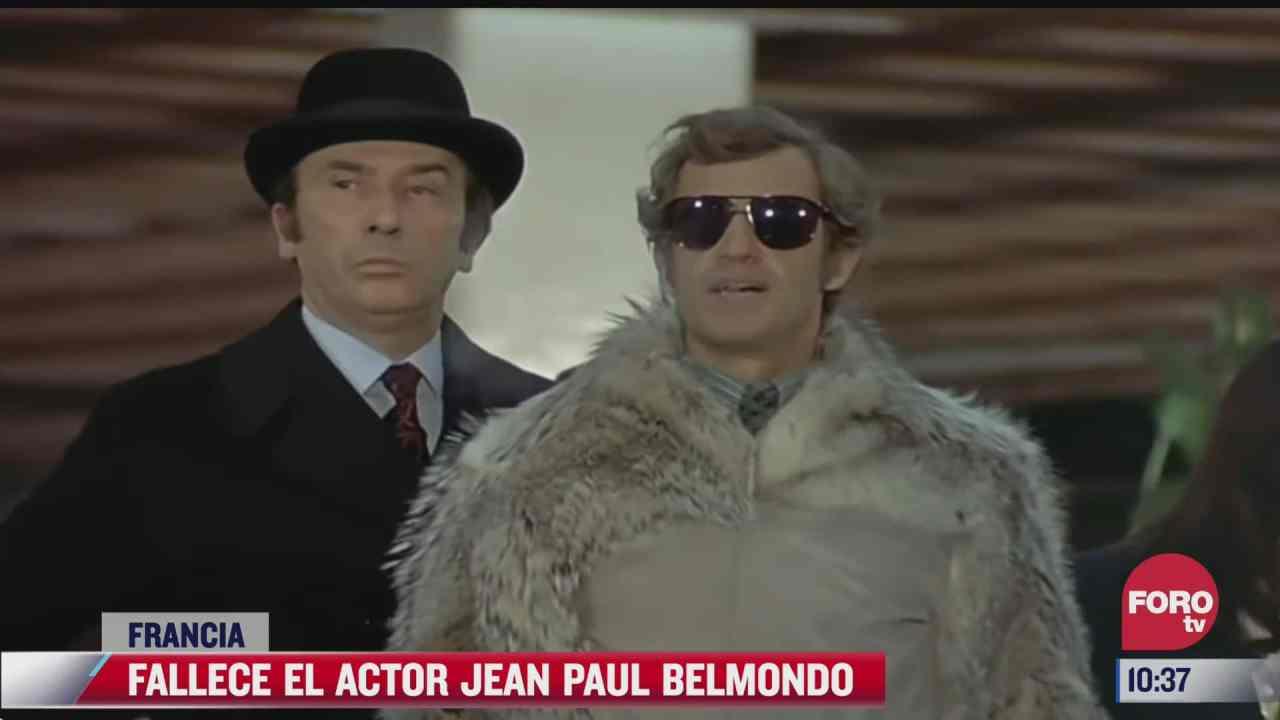 muere el actor frances jean paul belmondo