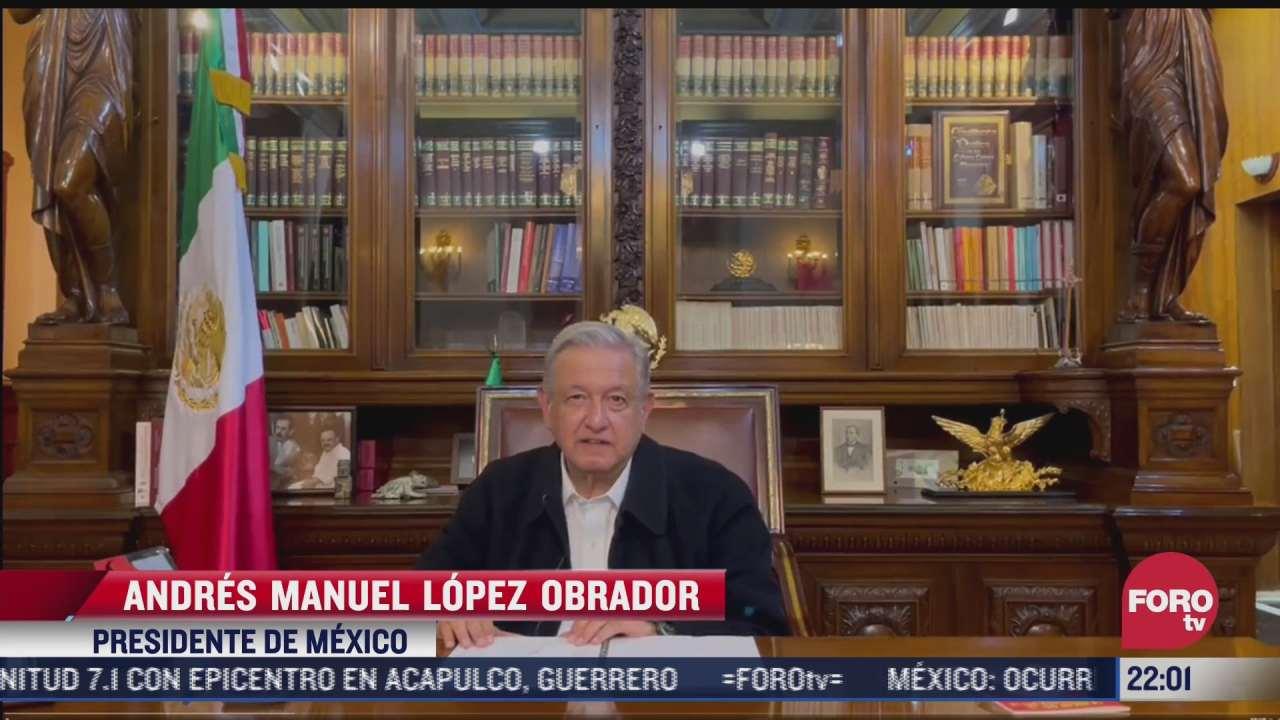 no hay danos graves en mexico tras sismo magnitud 7 1 amlo