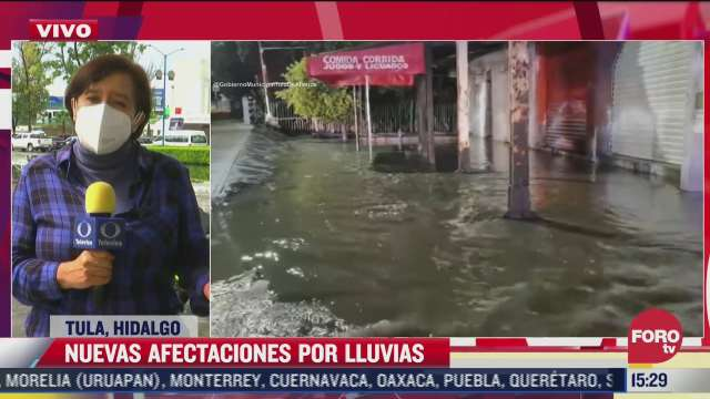 nuevas afectaciones por lluvias en hidalgo