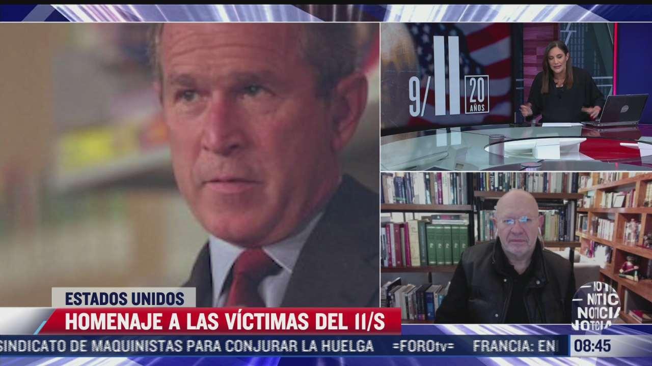 ¿En qué momento EEUU supo que estaba bajo un ataque terrorista el 11-S?