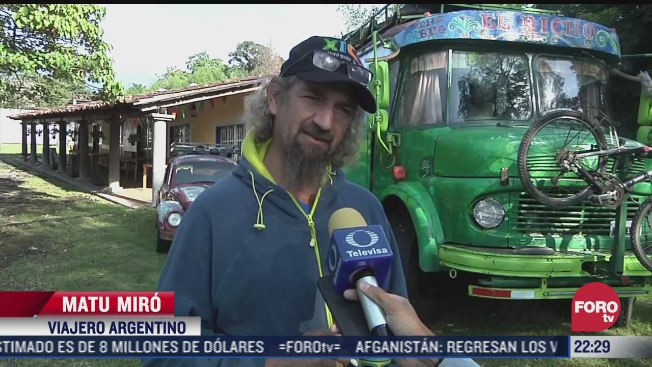 pandemia trunca viaje de argentinos que recorrian america latina en casa rodante