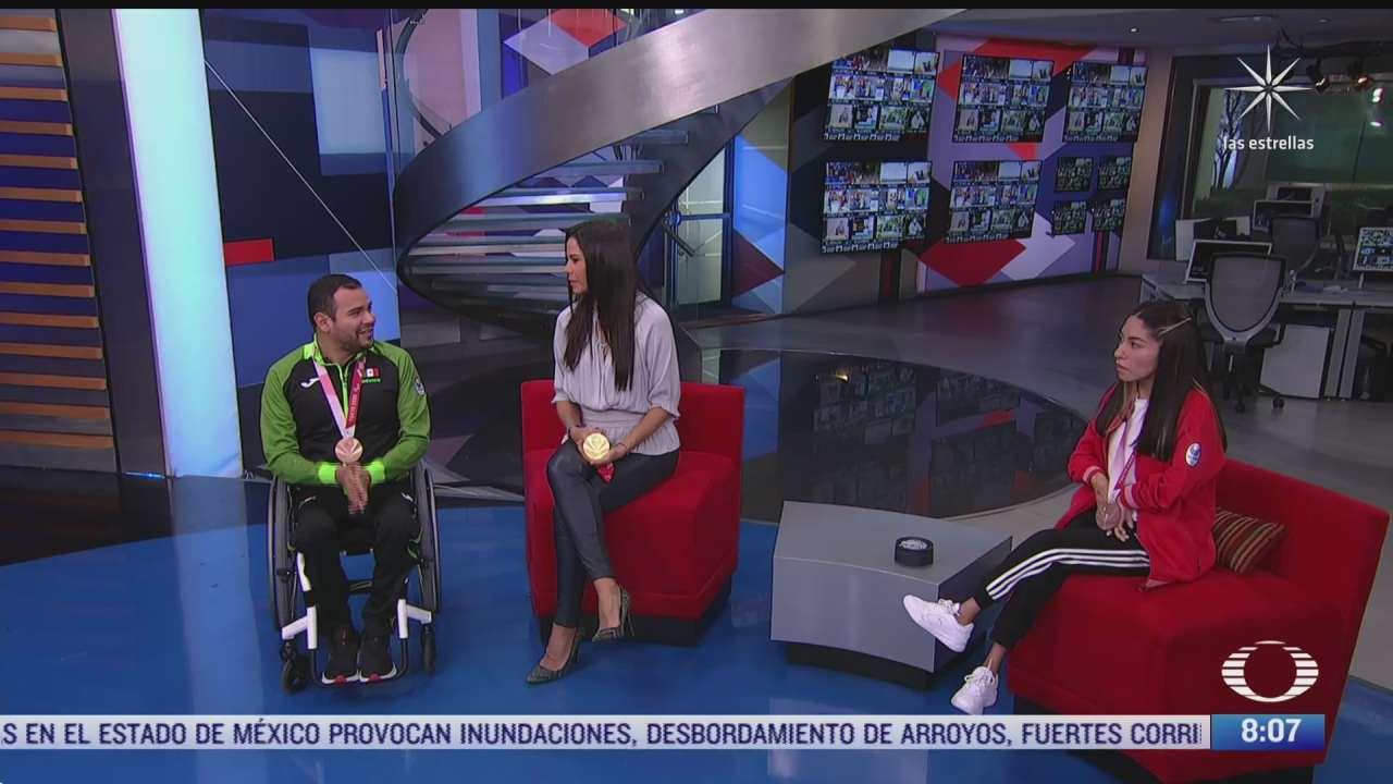 paola rojas entrevista a fabiola ramirez y diego lopez medallistas de los juegos paralimpicos de tokyo