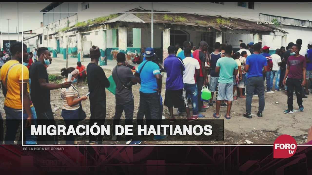 que suscito el aumento de migrantes haitianos en la frontera sur