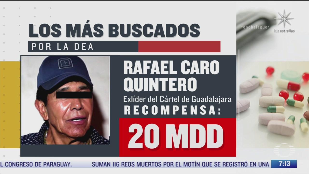 quienes son los cuatro lideres del narcotrafico mexicanos mas buscados por la dea