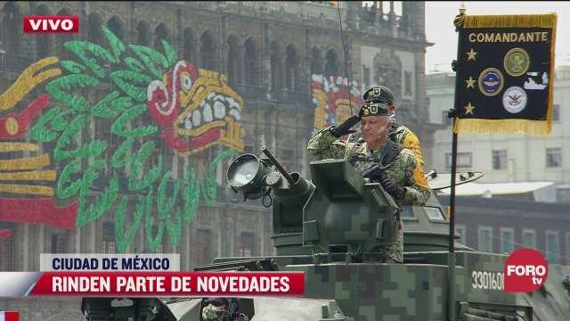 saldo blanco tras desfile militar del 16 de septiembre de