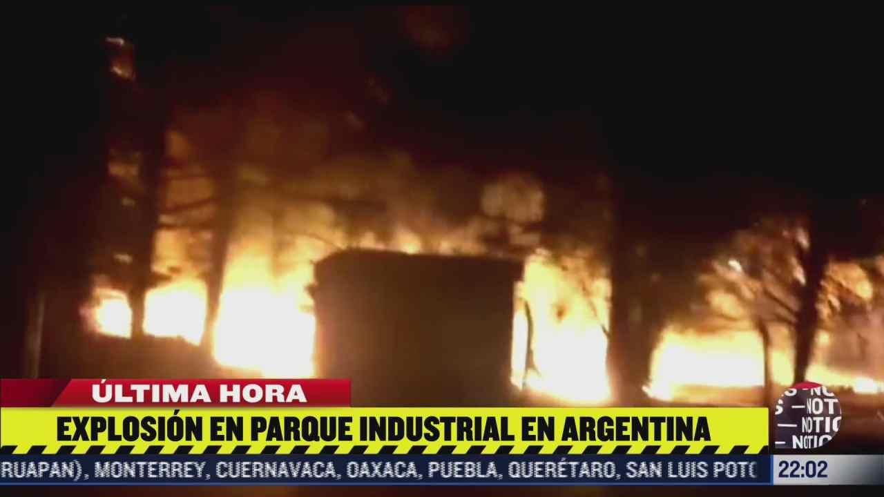 se incendia fabrica de pinturas en argentina