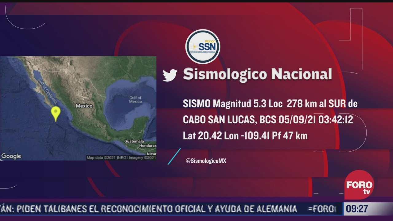 sismo sacude baja california sur