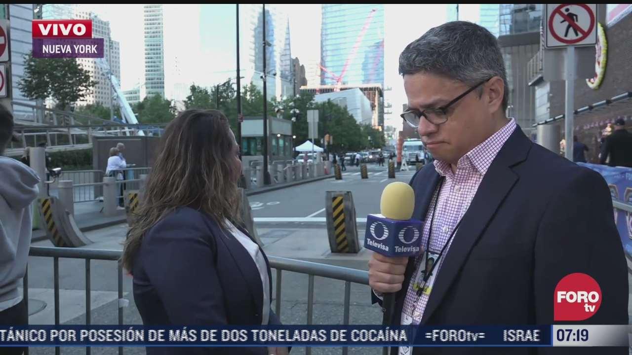 sobreviviente de atentados del 11 s regresa por primera vez a zona cero