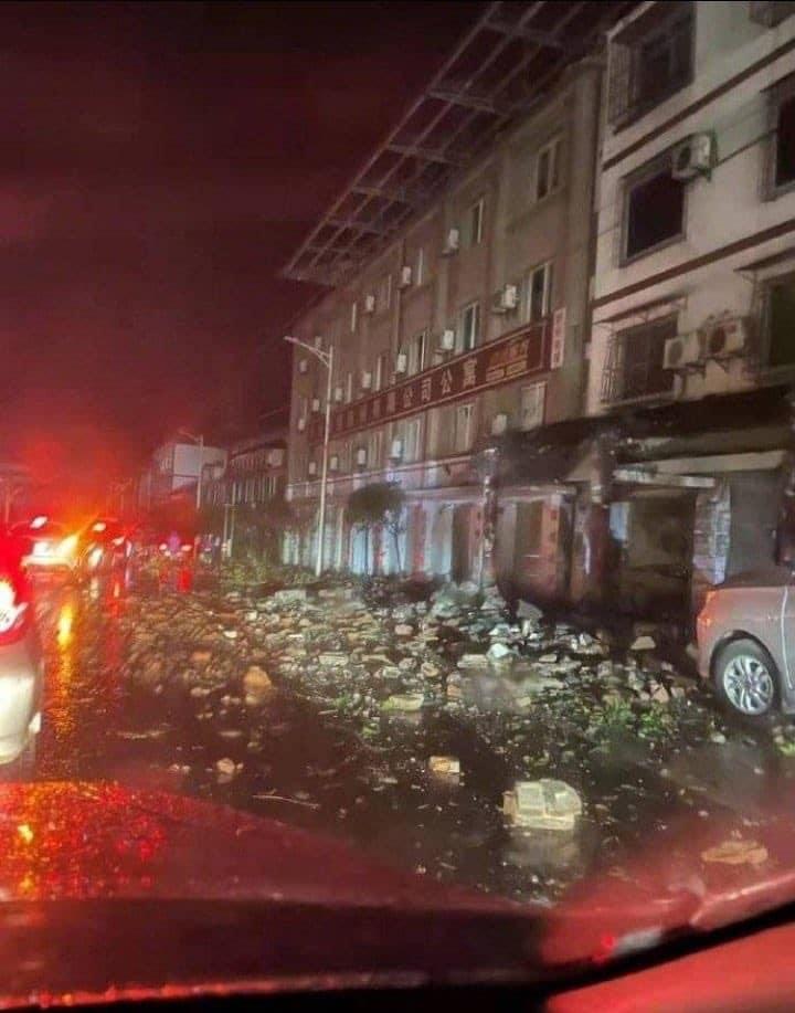 Terremoto de magnitud 6 deja al menos 3 muertos y 60 heridos en China