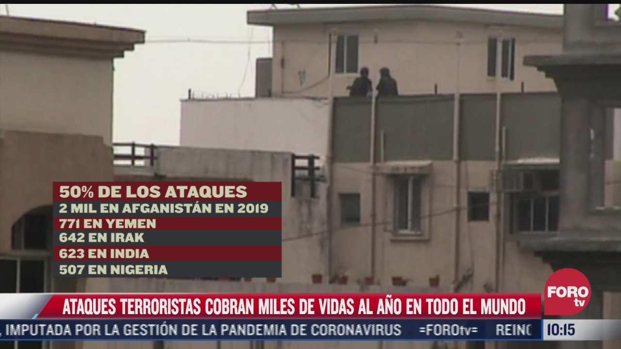 terrorismo cobra miles de vidas al ano en todo el mundo